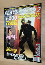 Playstation 2 Code Book splinter cell GTA vice city the Getaway visite virtuelle