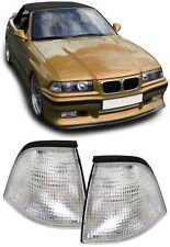 CLEAR INDICATORS FOR BMW E36 3 SERIES COUPE CONVERTIBLE CABRIOLET CABRIO 2DOOR