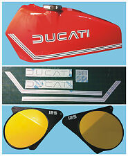 Adesivi Ducati regolarità 125 1975 - adesivi/adhesives/stickers/decal