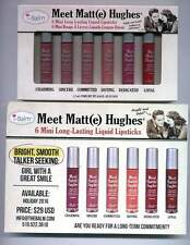 TheBalm Meet Matte(e) Hughes Mini's Set-6 Min Lipsticks-NIB!!
