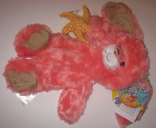 New UNSTUFFED Build-A-Bear CORAL BEACH BUNNY Rabbit Pink with STARFISH Star Fish