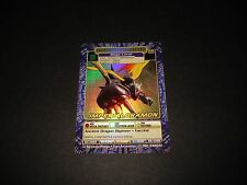 BANDAI DIGIMON HOLO CARD DW-03 IMPERIALDRAMON-GOOD CONDITION