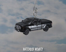 2015 Ford F150 Ext Cab Pickup Truck Christmas Ornament 1/64 F-150 FX4 Off Road