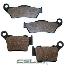 Front Rear Brake Pads For Husaberg TE250 2T 2011 2012 2013 2014 / FE300 2T 2011