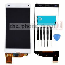 For Sony Xperia Z3 Mini Compact D5803 D5833 LCD Display Touch Screen Unit White