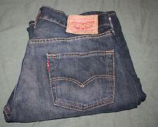 Levis 501 Men's Classic Straight Leg  Button Fly Jeans   - Blue -  Size 30 x 30