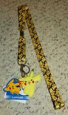 POKEMON - Pikachu Lanyard - Yellow