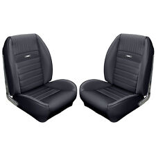 1964 1965 1966 65 66 Mustang Coupe Black Sport II Upholstery Pony Interior TMI