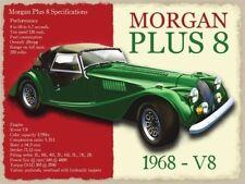 Morgan Plus 8,Classico Britannico Auto Sportive,V8,Misura Media Metallo/