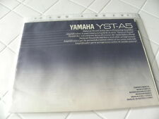 Yamaha YST-A5 Owner's Manual  Operating Instructions Istruzioni New