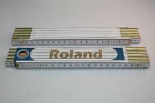 Rule with NAME ROLAND Lasergravur 2 Meter Craftsman Quality