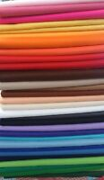 Self Adhesive Craft Felt Fabric Material -Sold in Squares Pack- Assorted Colours