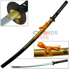 Sugoi Steel Oishi Ronin Sword 1060 HC Forged Katana Battle Ready 47 Functional