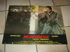 HIGHLANDER FOTOBUSTA SEAN CONNERY CHRISTOPHER LAMBERT