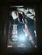"SIDESHOW SIX GUNS LEGENDS 12"" WYATT EARP ACTION FIGURE NEW NRFB MIB"