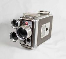 Kodak Vintage 1950's Brownie Movie Camera Turret 8 MM