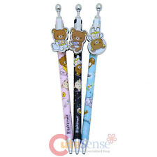 San X Rilakkuma Mechanical Pencil Pendant Lead Sharp Pencil 3pc Set