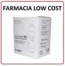 GLUCOCARD MX METER - Kit Glucometro Misuratore Glicemia +10 Strisce 10 Pungidito