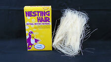 Happy Pet Natural Nesting Material Hair Budgies Lovebirds Cockatiels Mice Rats