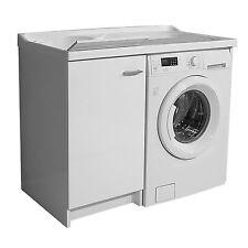 Mobile coprilavatrice montaggio destra + lavatoio linea Marella cm 109x60x89 h