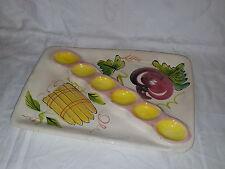 GRANDE Colorato in Ceramica segmentato che servono dish piatto ciotola piatto