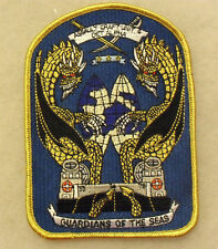 "NEAT 1990'S USN ""ASSAULT CRAFT UNIT 4 DET ALPHA"" ME 5 5/8"" TALL X 4"" WIDE"