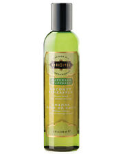 KAMA SUTRA NATURALS SENSUAL MASSAGE OIL - COCONUT PINEAPPLE 8oz