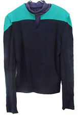 MEDIUM Star Trek DS9/Voyager Deluxe Uniform Shirt- Teal Science
