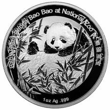 Smithsonian Institution - Baby Giant Panda Bao Bao 2015 1 oz .999 Silver Medal