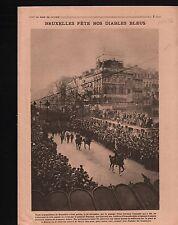 Bruxelles Poilu General Jean-Marie Degoutte/La Madeleine Paris 1919 ILLUSTRATION