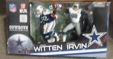 Jason Witten and Michael Irvin McFarlane 2 Pk Dallas Cowboys Fast  Free Shipment
