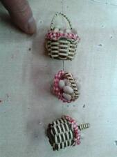 1 minuterie uova presepe,oggetti attrezzi x pastori shepherd nativity crib