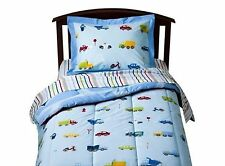 FULL - Circo Just for Kids - Transportation 7-pc SHEET, SHAM & COMFORTER SET