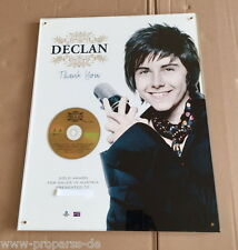 "Declan ""Thank You"" Gold Award - Austria - Echter Musikpreis - IFPI"