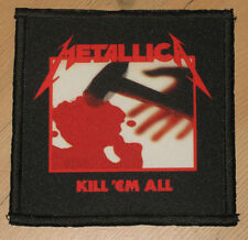 "METALLICA ""KILL'EM ALL"" silk screen PATCH"