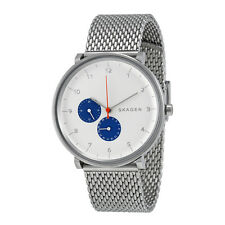 BRAND NEW SKAGEN SKW6187 HALD STAINLESS STEEL MESH BAND MULTIFUNCTION MENS WATCH