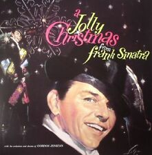 Frank Sinatra A Jolly Christmas From Frank Sinatra  New Pressing on Red VInyl Lp