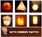 Himalayan Natural Rock Salt Lamp with Dimmer Switch. 3Kg 5Kg 6Kg 7Kg 8Kg 9Kg.