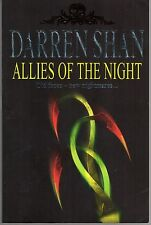 DARREN SHAN #8 - ALLIES OF THE NIGHT: Old Faces - New Nightmares... (PB; 2002)