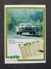 G065-Advertising Pubblicità-1984 - TOTIP RALLY TEAM MICKY BIASION