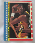 Kareem Abdul-Jabbar Los Angeles Lakers #8 Basketball 1987 - 1988 Fleer Stickers