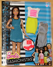 Barbie Fashionistas Glam mit Fashion Mode Freizeitlook DTF01 NEU/OVP Puppe