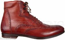 STEFANO BRANCHINI WINGTIP ANKLE BOOTS MENS US 6 ITALIAN DESIGNER MENS SHOES