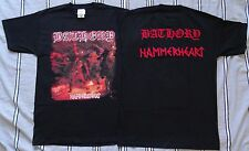 BATHORY OFFICIAL ORIGINAL TSHIRT HAMMERHEART LEGEND OF BLACK METAL Quorthon Seth