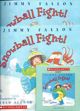 Snowball Fight! by Jimmy Fallon Two books & CD set Daily Five Listening Center