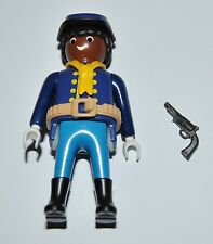 36174 Buffalo Soldier, 9th/10th US cavalry ACW 1870 Soldado CUSTOM playmobil