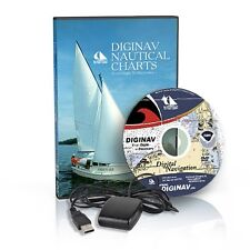 NOAA Nautical Charts GPS Marine Navigation Software DVD !!COMPLETE SYSTEM!!