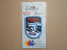 Columbia Icefield Voyager Woven Cloth Patch Badge