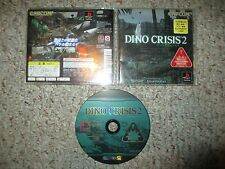 Dino Crisis 2 (Sony Playstation 1) Complete JAPAN JP Import