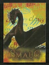 2015 The Hobbit Desolation of Smaug CHARACTER BIOGRAPHY CB-27 SMAUG The Dragon